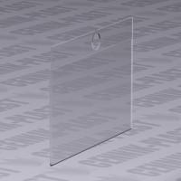 Ценник пластиковый на крючек 60х40 мм