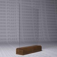 Менюхолдер А4  на деревянной основе