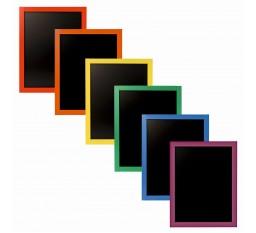 Меловая доска меню 40*60 радуга