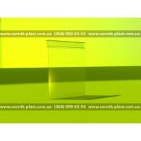 Ценникодержатель навесной для корзины 80*60 мм